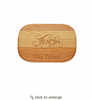 Personalized Peace Small Everyday Board