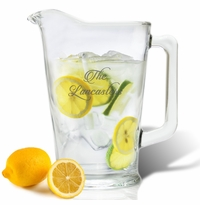 PERSONALIZED PITCHER  (GLASS)