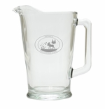 PERSONALIZED PITCHER  (GLASS): Wild Game Bar & Grill