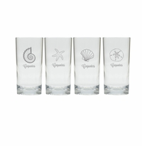 PERSONALIZED SEA HIGHBALL: SET OF 4 (Unbreakable)