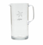 PERSONALIZED STARFISH PITCHER  (Unbreakable)