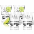 Personalized Tritan Double Old Fashioned Glasses 12oz (Set of 4) (Tritan Unbreakable)