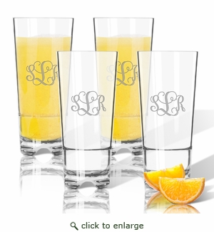 Personalized Tritan High Ball Glasses 16 oz (Set of 4)