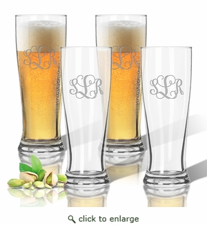Personalized Tritan Pilsner 14 oz (Set of 4)