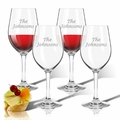 Personalized Tritan Wine Stems 12 oz (Set of 4)