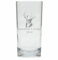 PERSONALIZED TROPHY BUCK : HIGHBALL - SET OF 4 (Unbreakable)