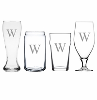 PERSONALIZED VARIETY MIXED BEER GLASSES