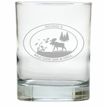 PERSONALIZED WILDGAME : OLD FASHIONED - SET OF 4 (Unbreakable)