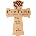 PERSONALIZED WOOD CROSS : ASSORTED WOOD TYPES
