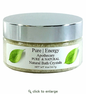 Pure|Energy Apothecary Bath Crystals - Pure & Natural 8 oz