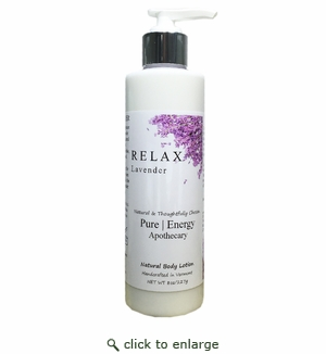 Pure|Energy Apothecary Body Lotion - Lavender 8 oz