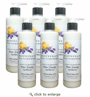 Pure|Energy Apothecary Body Lotion - Pure Aromatherapy 8 oz : Case of 6