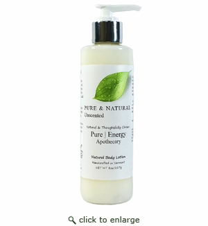 Pure Energy Apothecary Body Lotion - Pure & Natural 8 oz