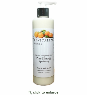 Pure|Energy Apothecary Body Lotion - Satsuma 8 oz