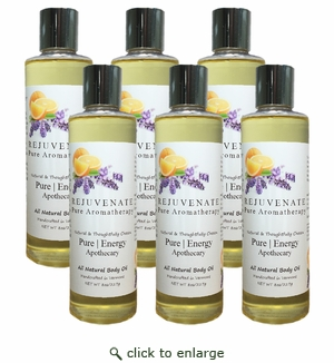 Pure|Energy Apothecary Body Oil - Pure Aromatherapy 8 oz : Set of 6