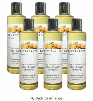 Pure|Energy Apothecary Body Oil - Satsuma 8 oz : Case of 6