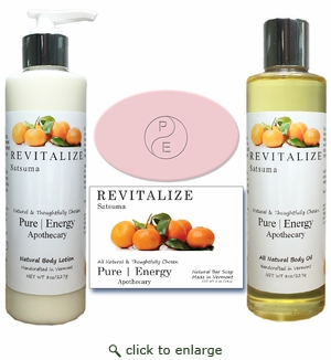 Pure|Energy Apothecary : Daily Delight Gift Set # 1 Satsuma