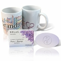 Pure Energy Apothecary Lavender soap and Grandma Mug Set