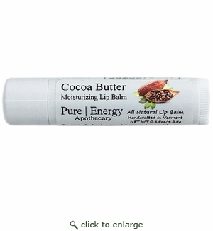 Pure|Energy Apothecary Lip Balm - Cocoa Butter (unscented) .15oz