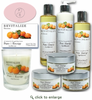 Pure|Energy Apothecary : Premium Spa Collection Gift Set # 7 Satsuma