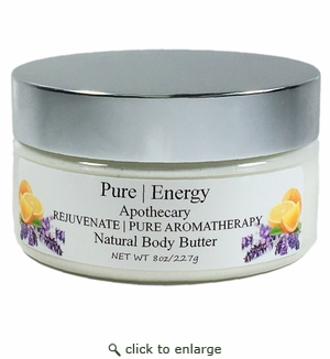 Pure|Energy Apothecary Pure Aromatherapy Body Butter 8 oz