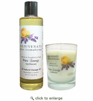 Pure|Energy Apothecary : Relaxing Ritual Gift Set #4 Pure Aromatherapy