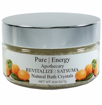 Pure|Energy Apothecary Satsuma Bath Crystals 8 oz