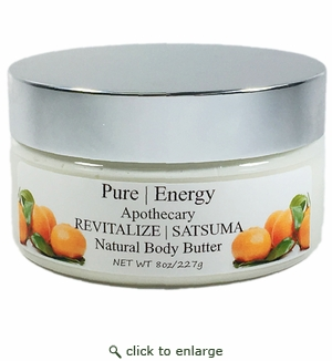 Pure|Energy Apothecary Satsuma Body Butter 8 oz