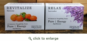 Pure Energy Apothecary  Soap set