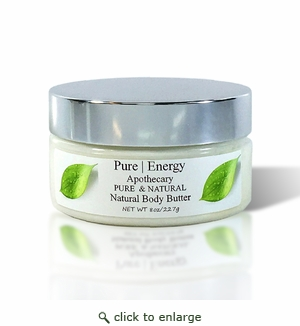 Pure|Energy Apothecary Whipped Body Butter - Pure & Natural 8 oz