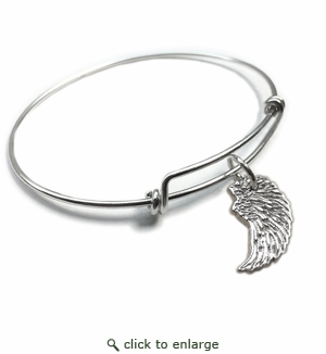 Pure|Energy {vt} Forever Charms & Bangles : Angel Wing