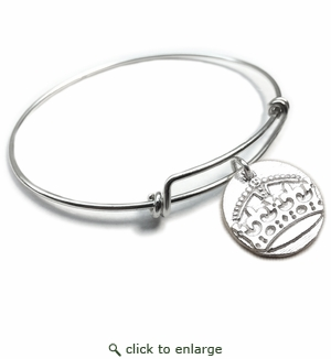 Pure|Energy {vt} Forever Charms & Bangles : Crown