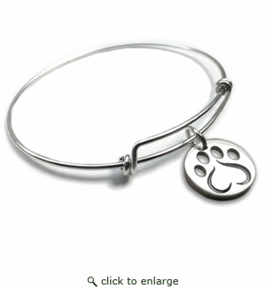 Pure|Energy {vt} Forever Charms & Bangles : Love Paw