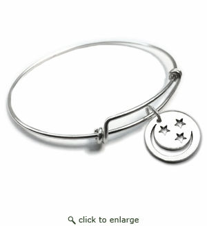 Pure Energy {vt} Forever Charms & Bangles : Moon and Stars