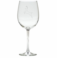 REINDEER WINE STEMWARE - SET OF 4 (GLASS)