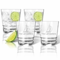 SAILBOAT OLD FASHIONED - SET OF 4 (Unbreakable)