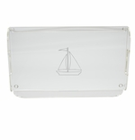 SAILBOAT SERVING TRAY WITH HANDLES (Unbreakable)