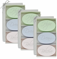 SIGNATURE SPA 3 SETS of 3 BARS ~ HOPE DREAM BELIEVE