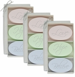 SIGNATURE SPA 3 SETS of 3 BARS ~ LOVE ~ HOPE ~ BELIEVE