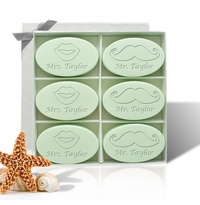 SIGNATURE SPA GREEN TEA & BERGAMOT INSPIRE: SIX BARS PERSONALIZED LIPS AND MUSTACHE