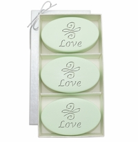 SIGNATURE SPA GREEN TEA & BERGAMOT TRIO: LOVE KNOT
