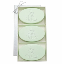 SIGNATURE SPA GREEN TEA & BERGAMOT TRIO: THREE BARS JOY TO THE WORLD