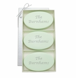 SIGNATURE SPA GREEN TEA & BERGAMOT TRIO: THREE BARS PERSONALIZED