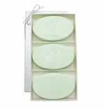 SIGNATURE SPA GREEN TEA & BERGAMOT TRIO: THREE BARS PERSONALIZED HAPPY GHOST