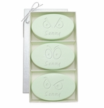 SIGNATURE SPA GREEN TEA & BERGAMOT TRIO: THREE BARS PERSONALIZED SPOOKY EYES
