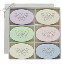 SIGNATURE SPA INSPIRE: FLOURISHED BUTTERFLY SOAP GIFT SET