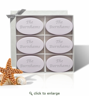 SIGNATURE SPA LAVENDER INSPIRE: SIX BARS PERSONALIZED