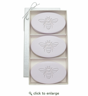 SIGNATURE SPA LAVENDER TRIO: THREE BARS BEE