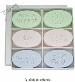SIGNATURE SPA ~ PEACE ON EARTH ~ LOVE ~ JOY TO THE WORLD ~ with icons