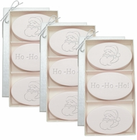 SIGNATURE SPA SATSUMA TRIO: 3 SETS of THREE BARS SANTA HO-HO-HO!